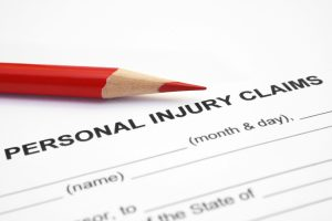 A personal injury claim and a red pencil