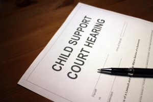 Child Support Hearing