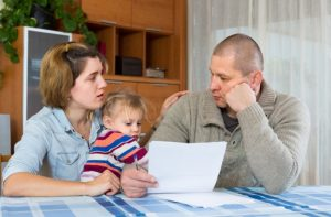 Family With Credit Card Debt